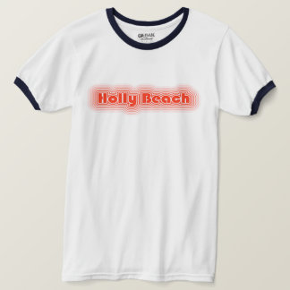 Stechpalmen-Strand Cajun Riviera Louisiana T-Shirt