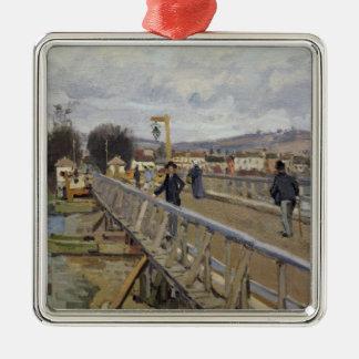 Steg Alfred Sisleys | in Argenteuil Silbernes Ornament