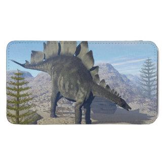 Stegosaurusdinosaurier - 3D übertragen Handytasche