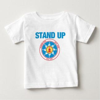 stehen Sie oben für stehenden Felsen Baby T-shirt