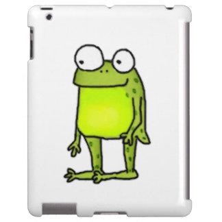 Stehender Frosch iPad Hülle