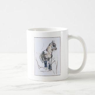 Steinbock-Kind Kaffeetasse