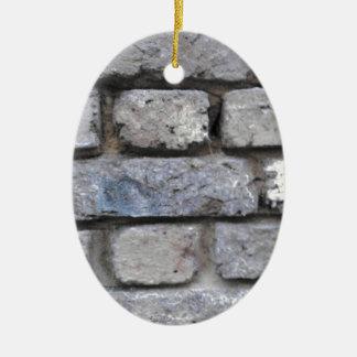 Steinwand des rustikalen Ziegelsteines Keramik Ornament