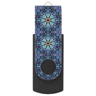 Steinwunder-Kaleidoskop USB-Blitz-Antrieb Swivel USB Stick 2.0