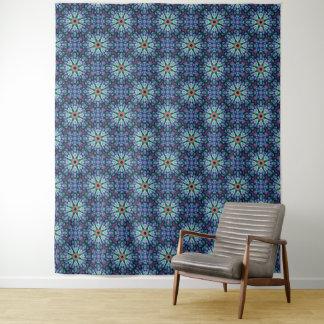 Steinwunder-Vintage Kaleidoskop-Wand-Tapisserie Wandteppich
