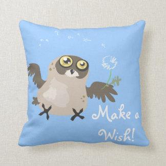 Stellen Sie ein Wish~ Wunschdenken-Eulenkissen her Kissen