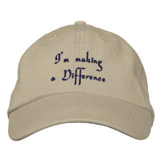 Stellen Sie einen Difference_Embroidered Hut her Bestickte Kappen