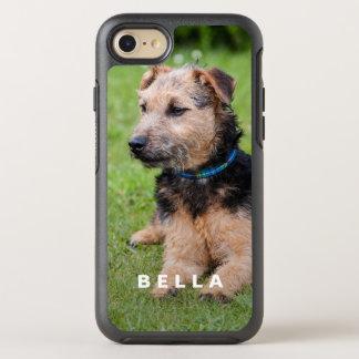 Stellen Sie Ihr eigenes Haustier-Foto mit Namen OtterBox Symmetry iPhone 7 Hülle