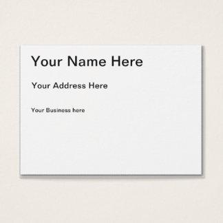 Stellen Sie Ihre eigene mollige Visitenkarte her