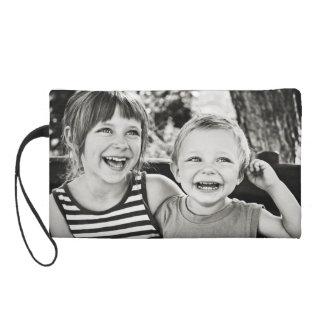Stellen Sie Ihren eigenen Familien-FotoWristlet Wristlet Handtasche