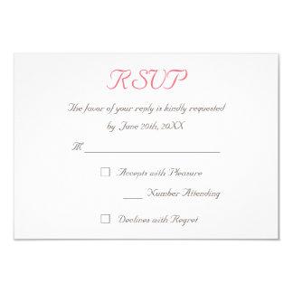 Stellen Sie kundenspezifische elegante Hochzeit Karte