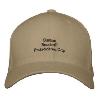 Stellen Sie kundenspezifischer Baseball gestickte Bestickte Kappe