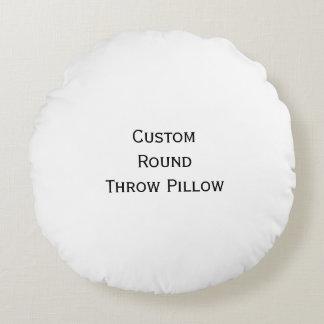 Stellen Sie kundenspezifisches personalisiertes Rundes Kissen