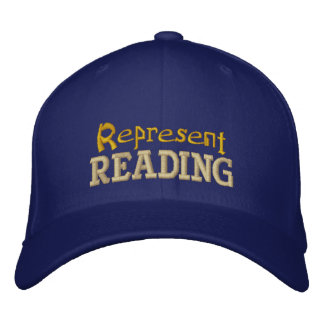 Stellen Sie Lesekappe dar Bestickte Kappe