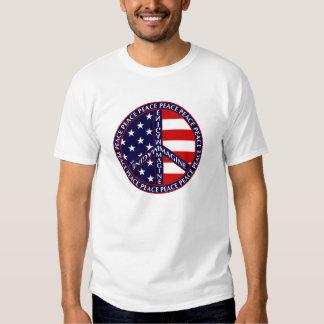 Stellen Sie sich USA-T - Shirt vor
