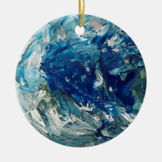 stephens Welle Rundes Keramik Ornament