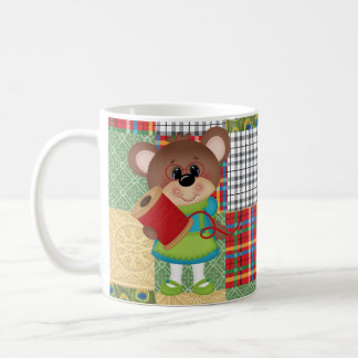 Steppende Bärn-Steppdecken-Mutter Cute Coffee Mug Tasse