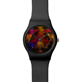 Sterio Trippin psychedelisch Armbanduhr