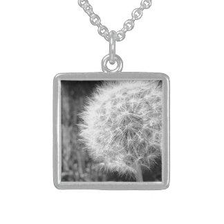 Sterlingsilber-Quadrat-Halskette Sterling Silberkette
