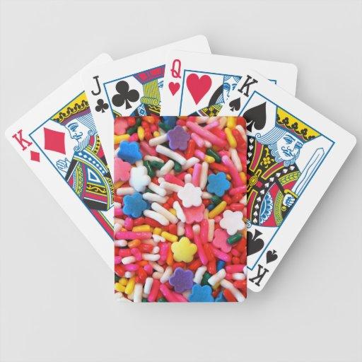 Stern besprüht spielkarten