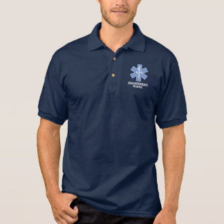 Stern des Lebens - ausgebildete Krankenschwester Polo Shirt
