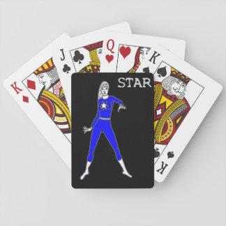 Stern-Spielkarten Spielkarten