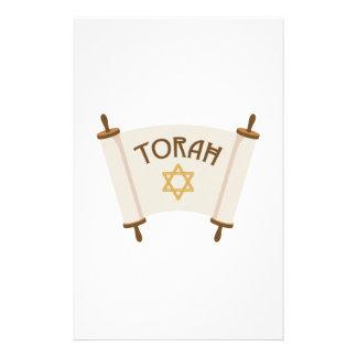 Stern Torah Briefpapier
