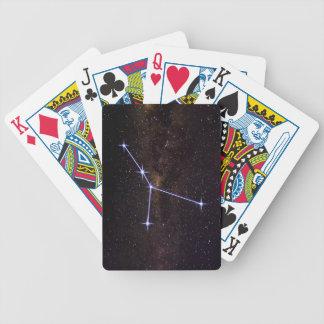 Stern-Zeichen-Krebs Bicycle Spielkarten