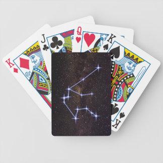 Stern-Zeichen-Wassermann Bicycle Spielkarten