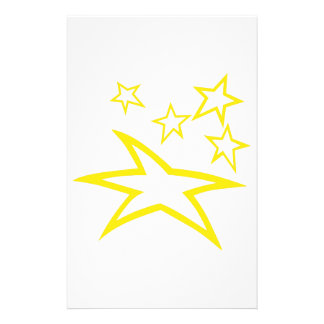 Sterne Briefpapier