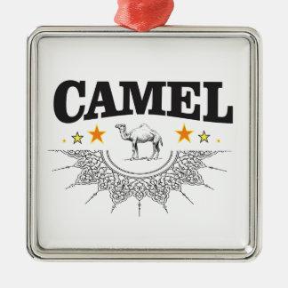 Sterne des Kamels Silbernes Ornament