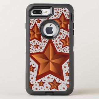 Sterne OtterBox Defender iPhone 7 Plus Hülle
