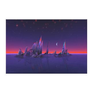 Sternenklare Inseln Leinwanddrucke