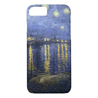 Sternenklare Nacht durch Van Gogh iPhone 7 Hülle