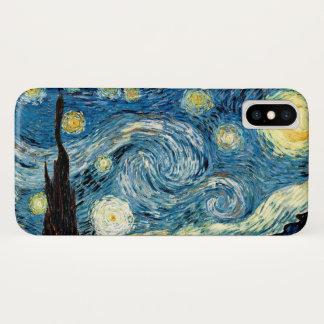 """""""Sternenklare Nacht"""" durch Van Gogh iPhone X Hülle"""