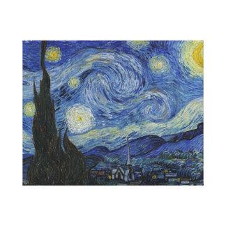 Sternenklare Nacht durch Vincent van Gogh Leinwanddrucke
