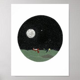 Sternenklare Nacht Poster