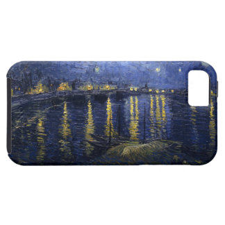 Sternenklare Nacht über dem Rhône iPhone 5 Fall iPhone 5 Cover