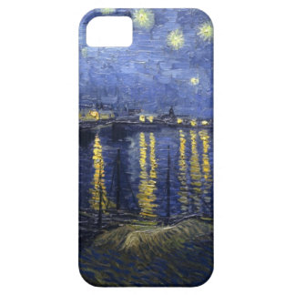 Sternenklare Nacht über dem Rhône iPhone 5 Fall iPhone 5 Hülle