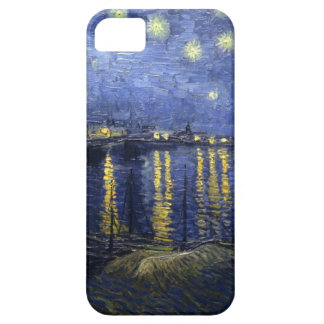 Sternenklare Nacht über dem Rhône iPhone 5 Fall iPhone 5 Hüllen