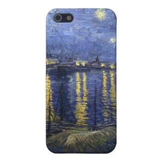 Sternenklare Nacht über der Rhône iPhone 5 Etui