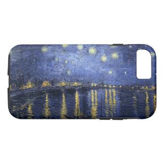 Sternenklare Nacht über der Rhône iPhone 7 Hülle
