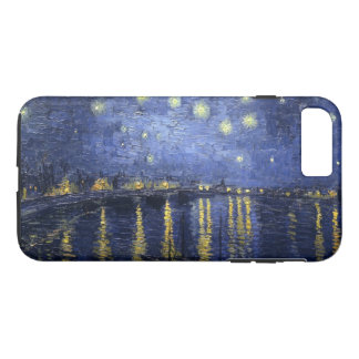 Sternenklare Nacht über der Rhône iPhone 8 Plus/7 Plus Hülle