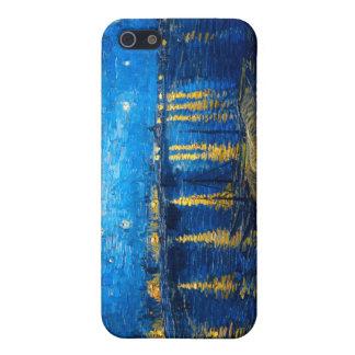 Sternenklare Nacht über der Rhône, Van Gogh iPhone 5 Schutzhülle