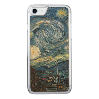 Sternenklare Nacht Van Gogh Carved iPhone 7 Hülle