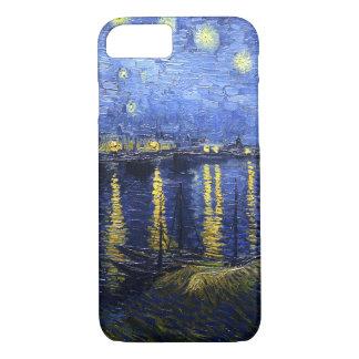 Sternenklare Nacht Van Gogh über dem Rhône iPhone iPhone 7 Hülle