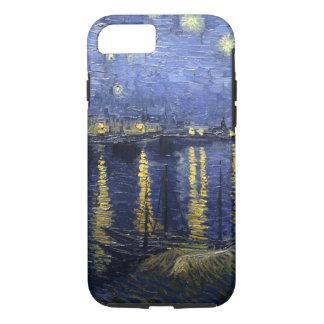 Sternenklare Nacht Van Gogh über der Rhône iPhone 8/7 Hülle