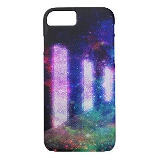Sternenklare Nachtblaues Schwarzes iPhone 7 iPhone 8/7 Hülle