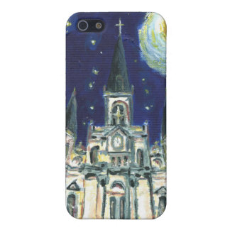 Sternenklare Nachtkathedrale iPhone 5 Case