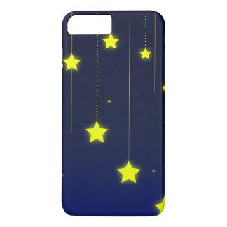 Sternenklare Nachttelefonkasten iPhone 8 Plus/7 Plus Hülle